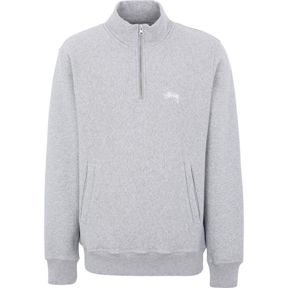 ステューシー STUSSY メンズ フリース トップス【stock fleece mock】Grey