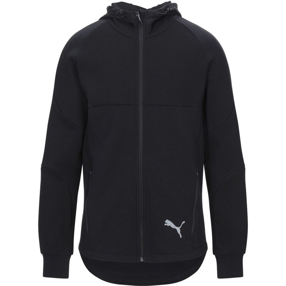 プーマ 激安格安割引情報満載 メンズ トップス パーカー Black hooded お買い得 sweatshirt PUMA サイズ交換無料