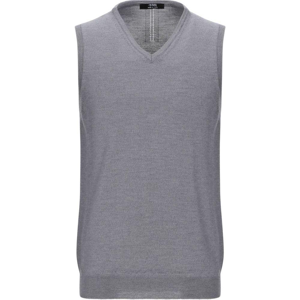 マスク +39 MASQ メンズ ベスト・ジレ トップス【sleeveless sweater】Grey