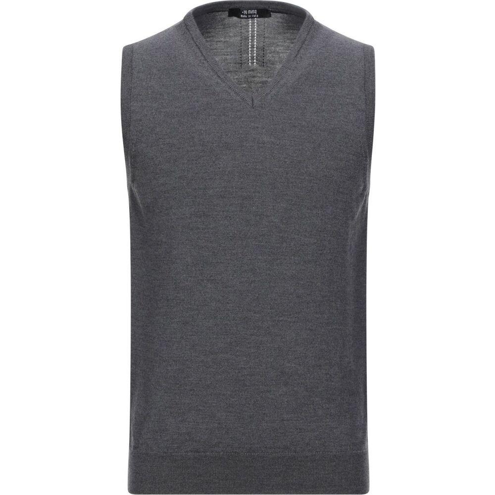 マスク +39 MASQ メンズ ベスト・ジレ トップス【sleeveless sweater】Lead