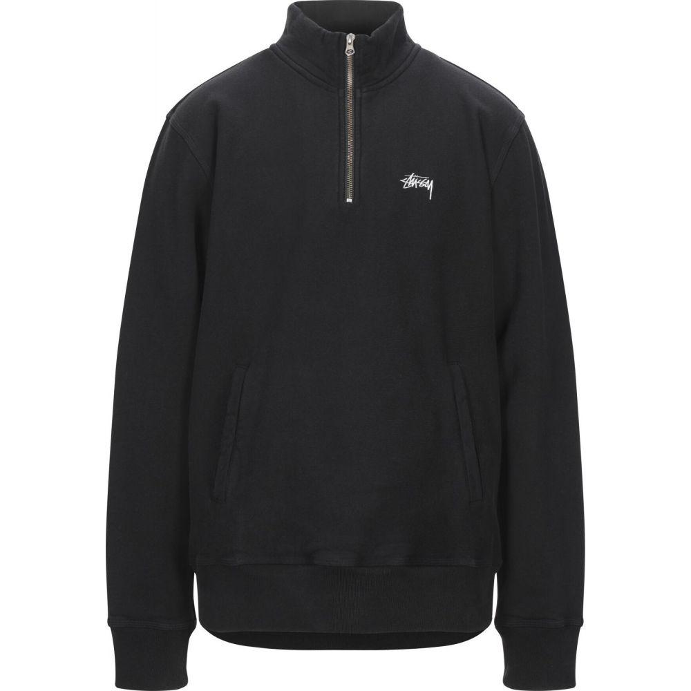 ステューシー STUSSY メンズ フリース トップス【stock fleece mock】Black