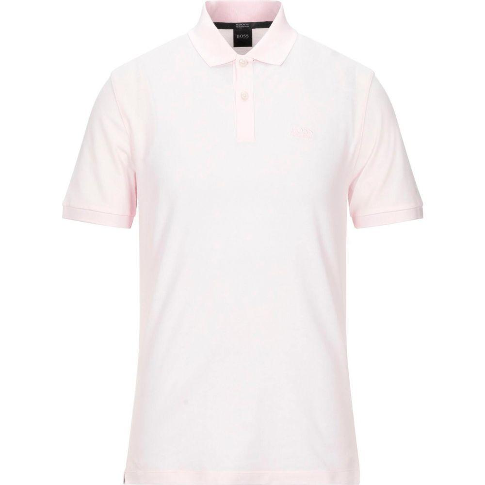 ヒューゴ ボス BOSS HUGO BOSS メンズ ポロシャツ トップス【polo shirt】Light pink
