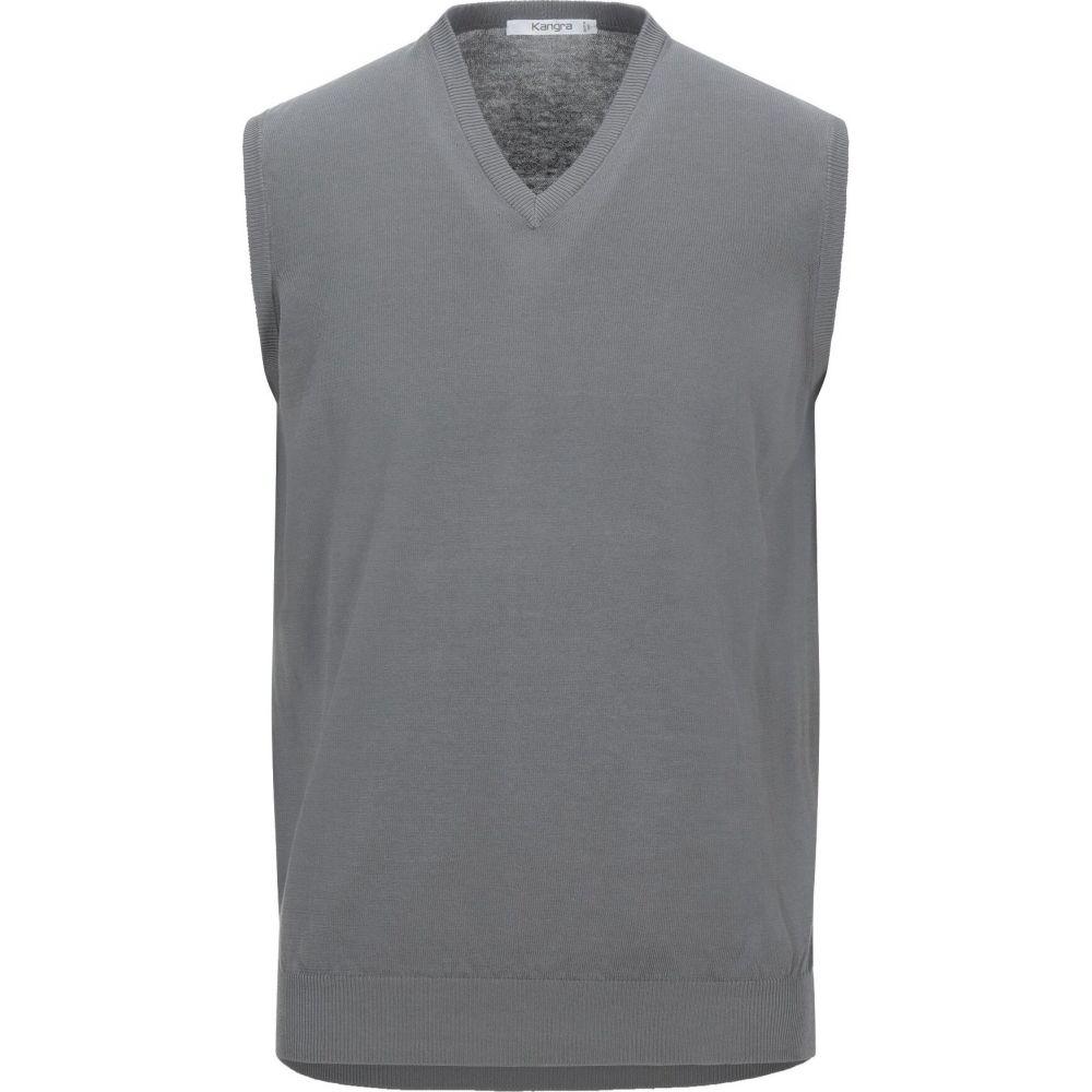 カングラ カシミア KANGRA CASHMERE メンズ ベスト・ジレ トップス【sleeveless sweater】Grey