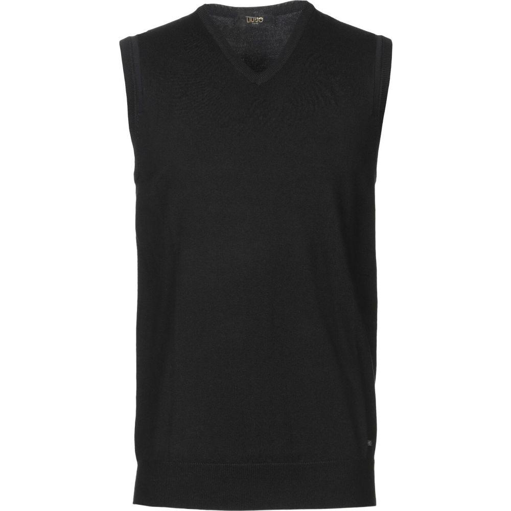 リウジョー LIU JO MAN メンズ ベスト・ジレ トップス【sleeveless sweater】Black