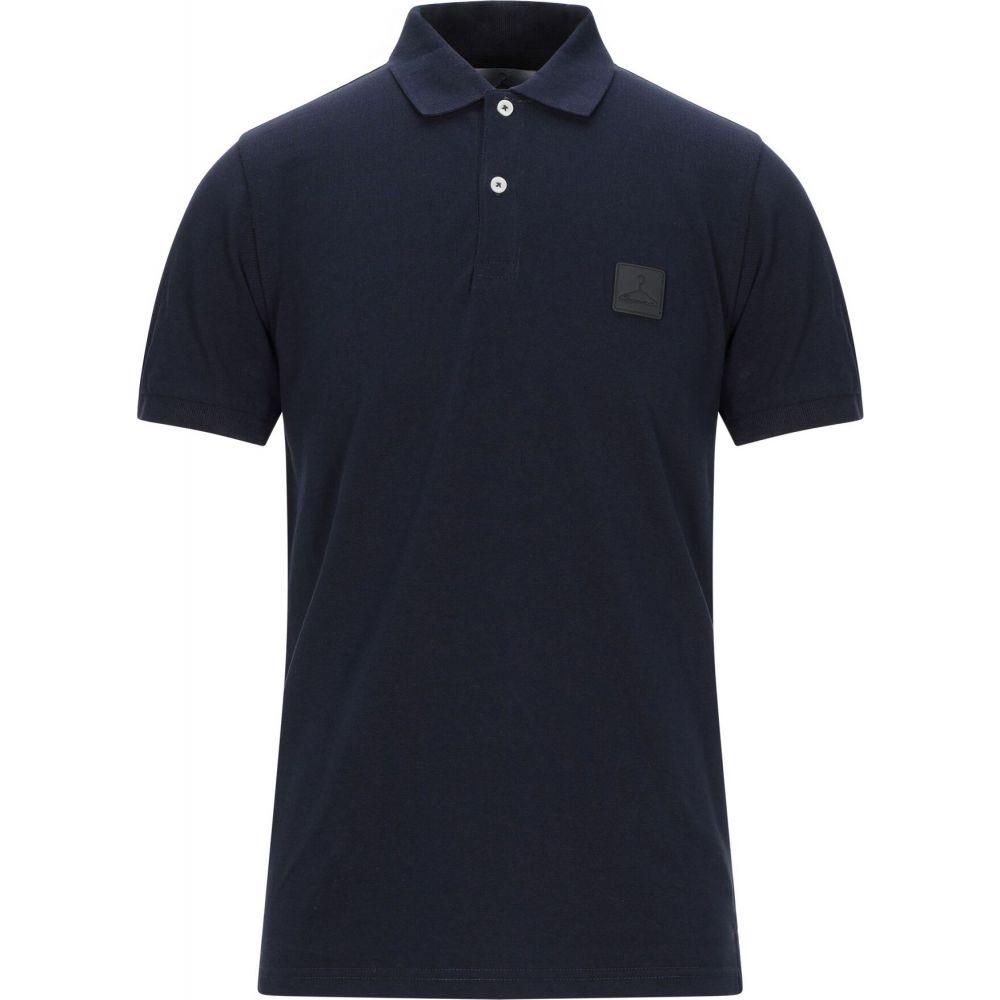 ベルナ BERNA メンズ ポロシャツ トップス【polo shirt】Blue