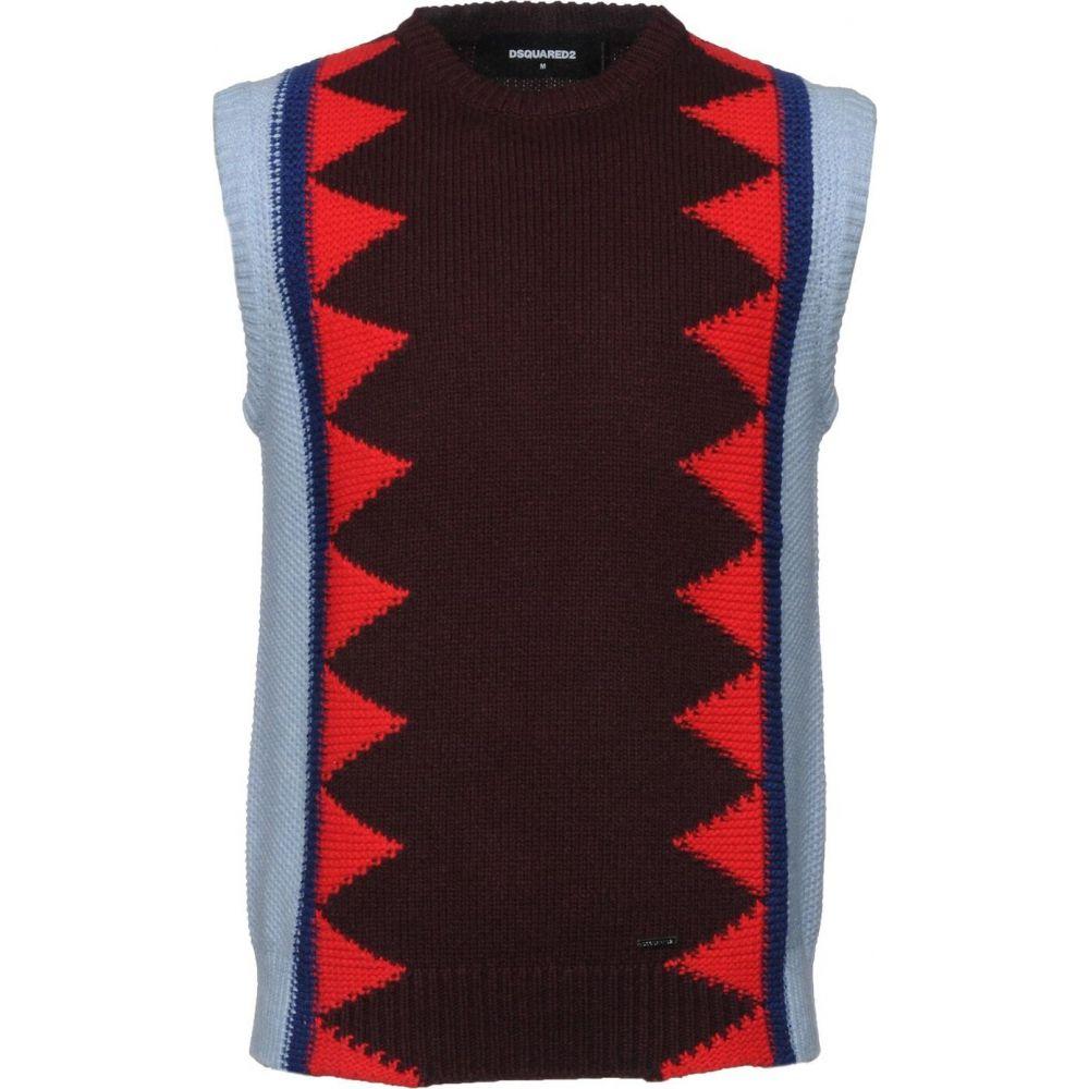 ディースクエアード DSQUARED2 メンズ ベスト・ジレ トップス【sleeveless sweater】Deep purple
