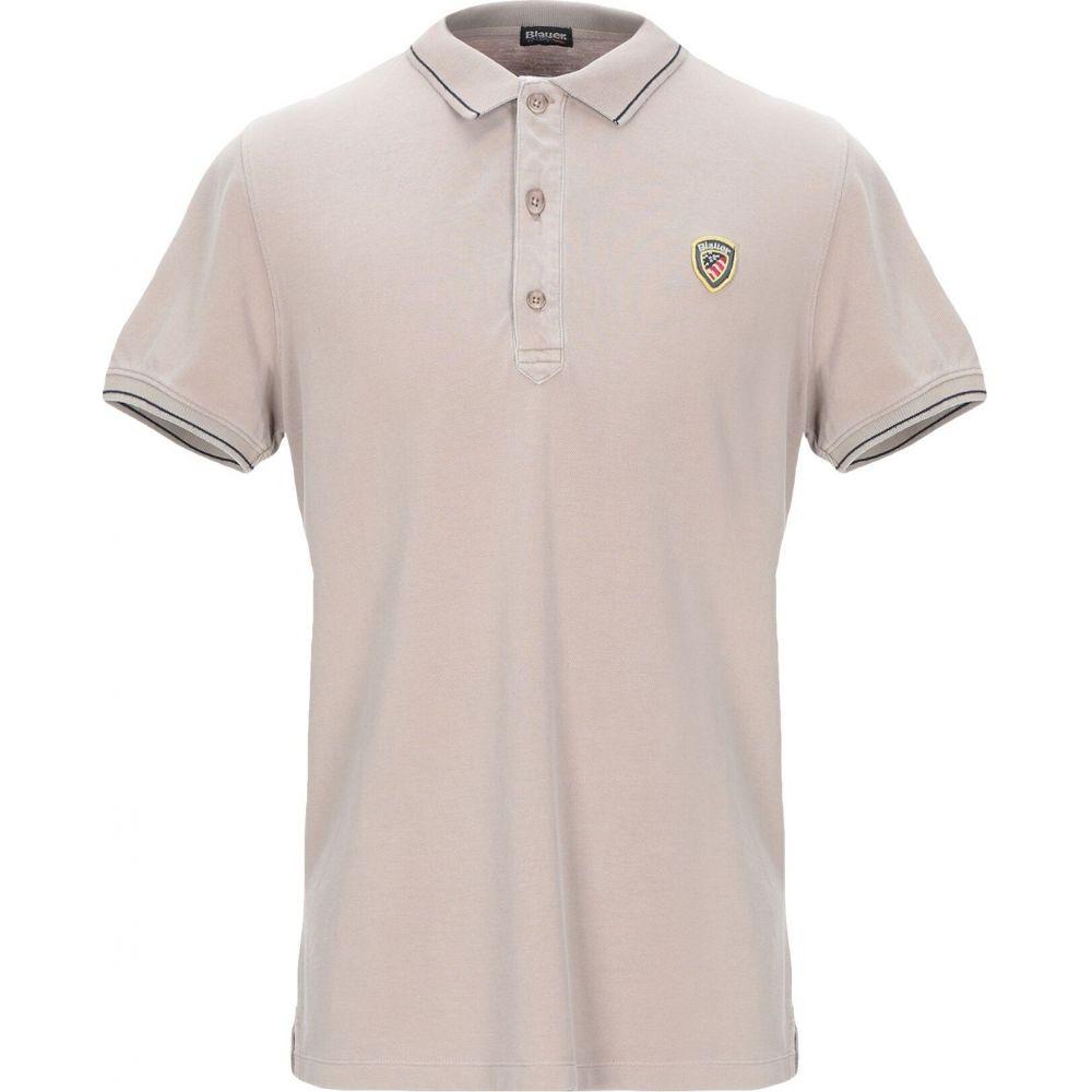 ブラウアー BLAUER メンズ ポロシャツ トップス【polo shirt】Beige