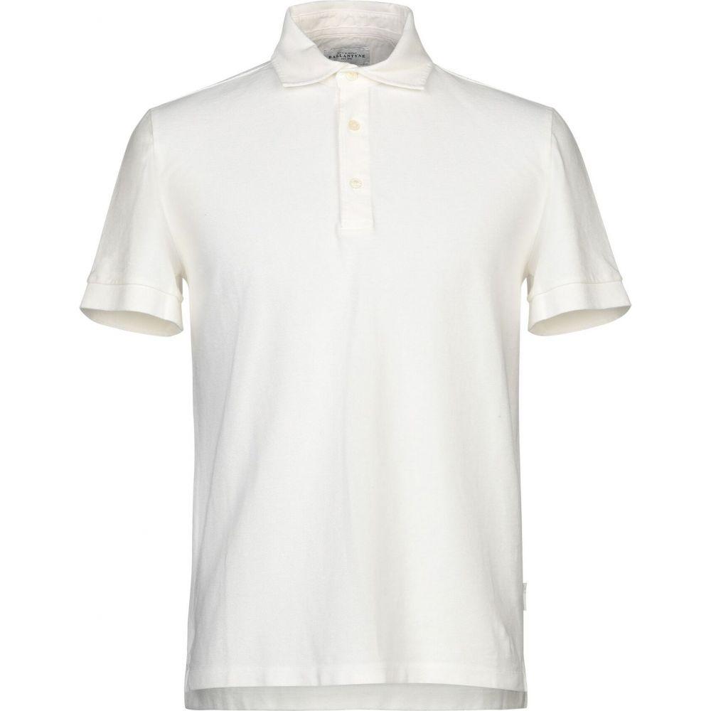 バランタイン BALLANTYNE メンズ ポロシャツ トップス【polo shirt】Ivory