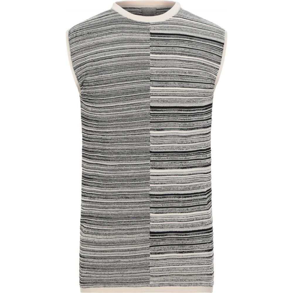 リック オウエンス RICK OWENS メンズ ベスト・ジレ トップス【sleeveless sweater】Ivory