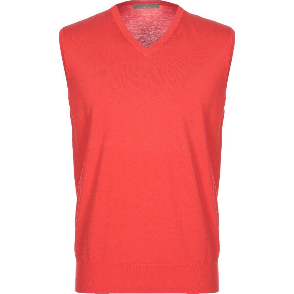 クルチアーニ CRUCIANI メンズ ベスト・ジレ トップス【sleeveless sweater】Red
