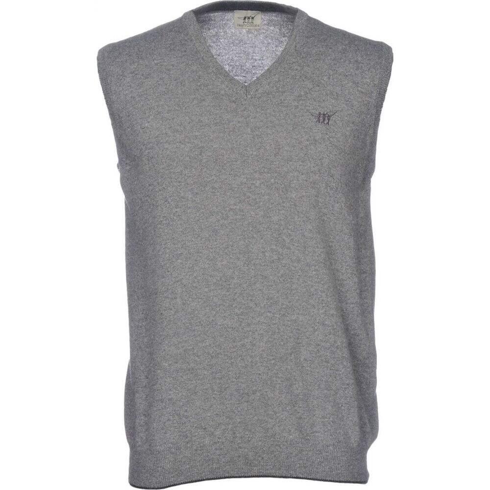 ヘンリーコットンズ HENRY COTTON'S メンズ ベスト・ジレ トップス【sleeveless sweater】Grey