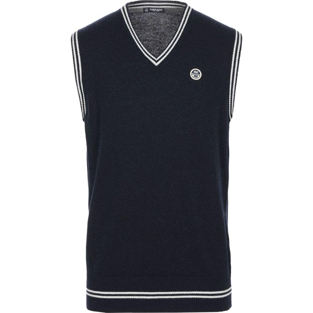 ノースセール NORTH SAILS メンズ ベスト・ジレ トップス【sleeveless sweater】Dark blue