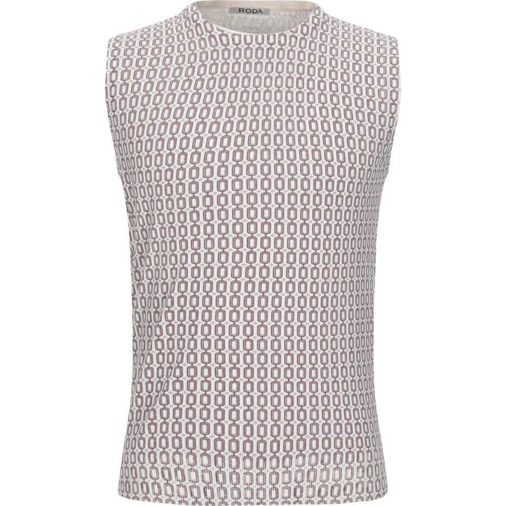 ロダ RODA メンズ ベスト・ジレ トップス【sleeveless sweater】Cocoa