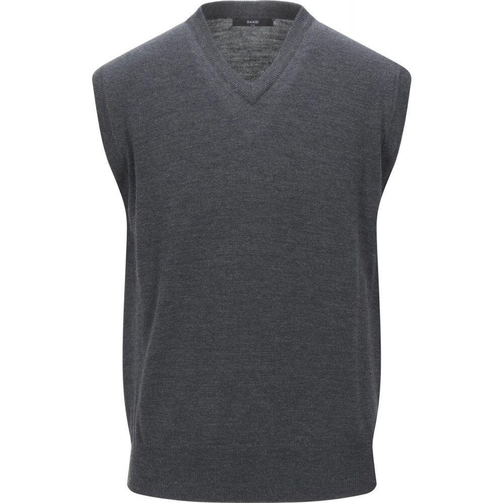 ダンディ DANDI メンズ ベスト・ジレ トップス【sleeveless sweater】Lead