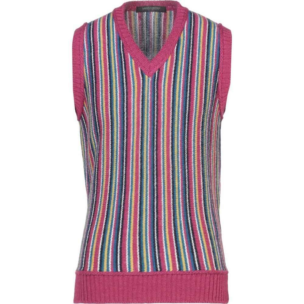 メッサジェリエ MESSAGERIE メンズ ベスト・ジレ トップス【sleeveless sweater】Light purple