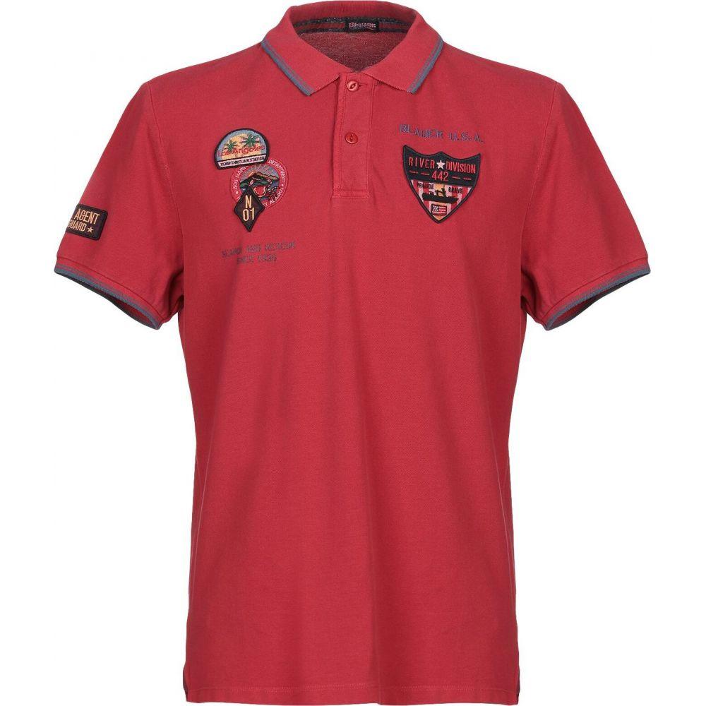 ブラウアー BLAUER メンズ ポロシャツ トップス【polo shirt】Red