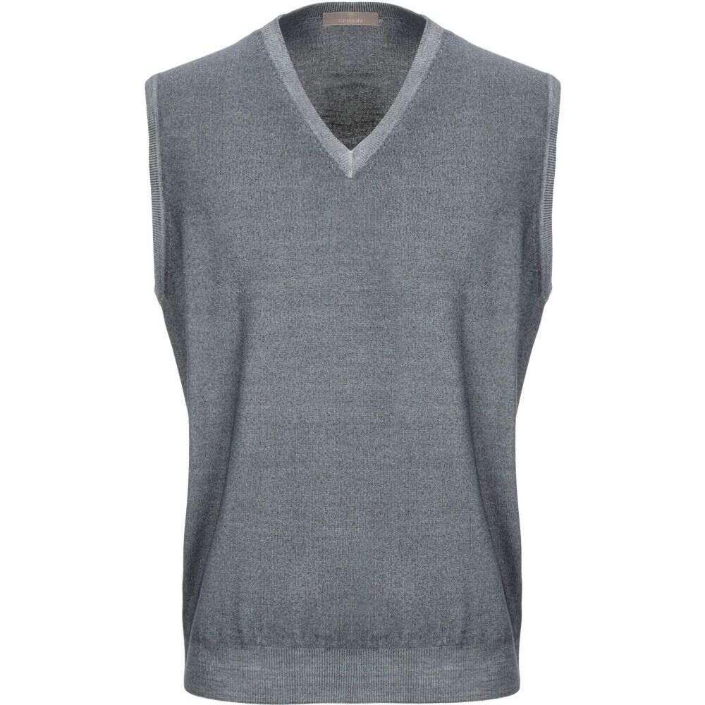 クルチアーニ CRUCIANI メンズ ベスト・ジレ トップス【sleeveless sweater】Lead