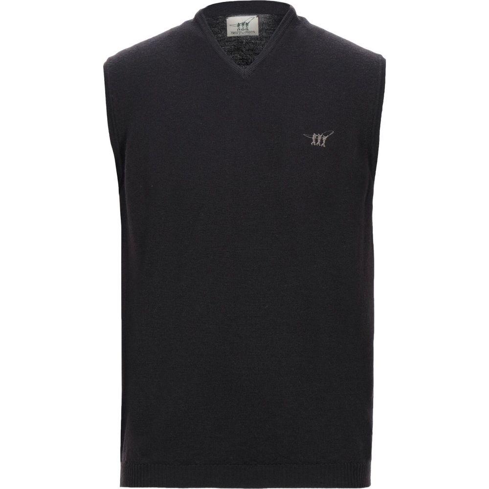 ヘンリーコットンズ HENRY COTTON'S メンズ ベスト・ジレ トップス【sleeveless sweater】Dark brown