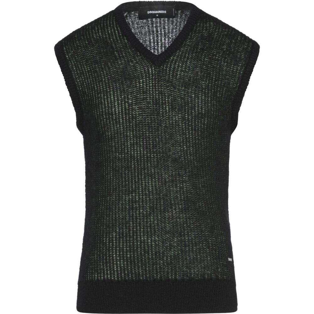 ディースクエアード DSQUARED2 メンズ ベスト・ジレ トップス【sleeveless sweater】Green