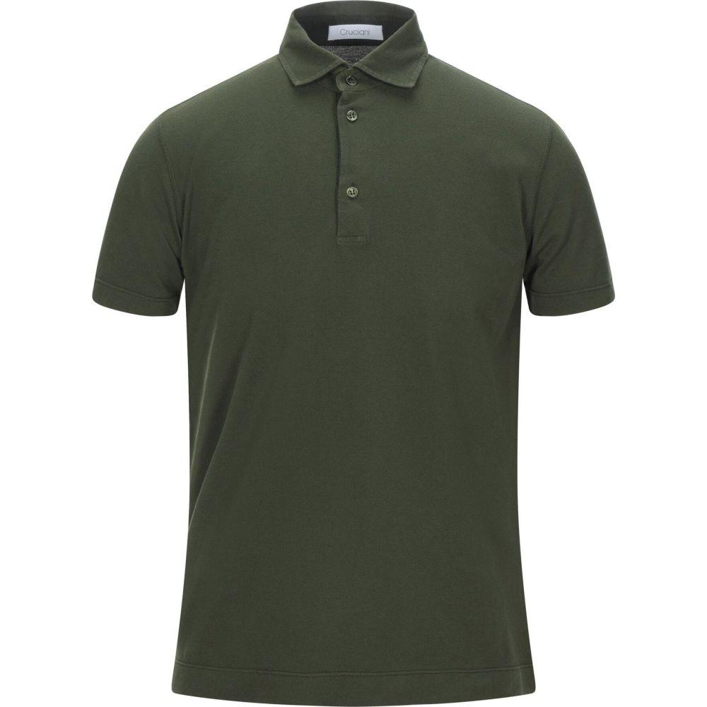 クルチアーニ CRUCIANI メンズ ポロシャツ トップス【polo shirt】Military green