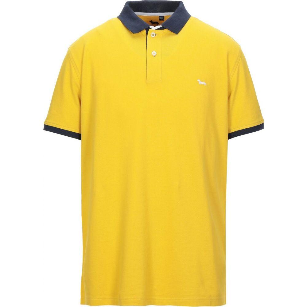 ハーモント アンド ブレイン HARMONT&BLAINE メンズ ポロシャツ トップス【polo shirt】Yellow