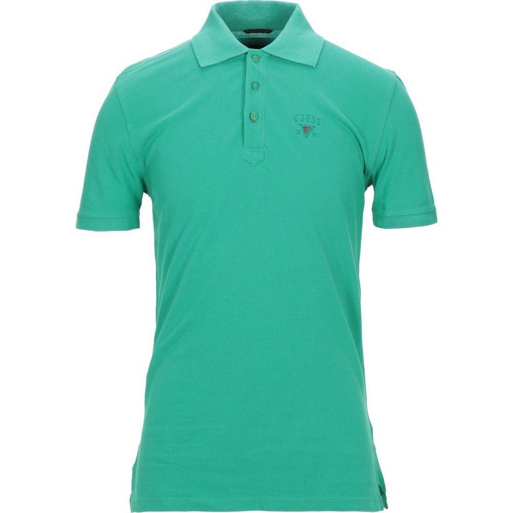ゲス GUESS メンズ ポロシャツ トップス【polo shirt】Green