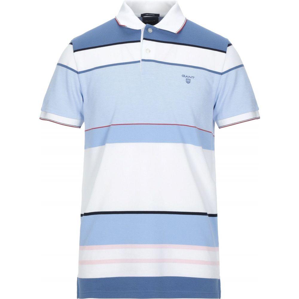 ガント GANT メンズ ポロシャツ トップス【polo shirt】Sky blue