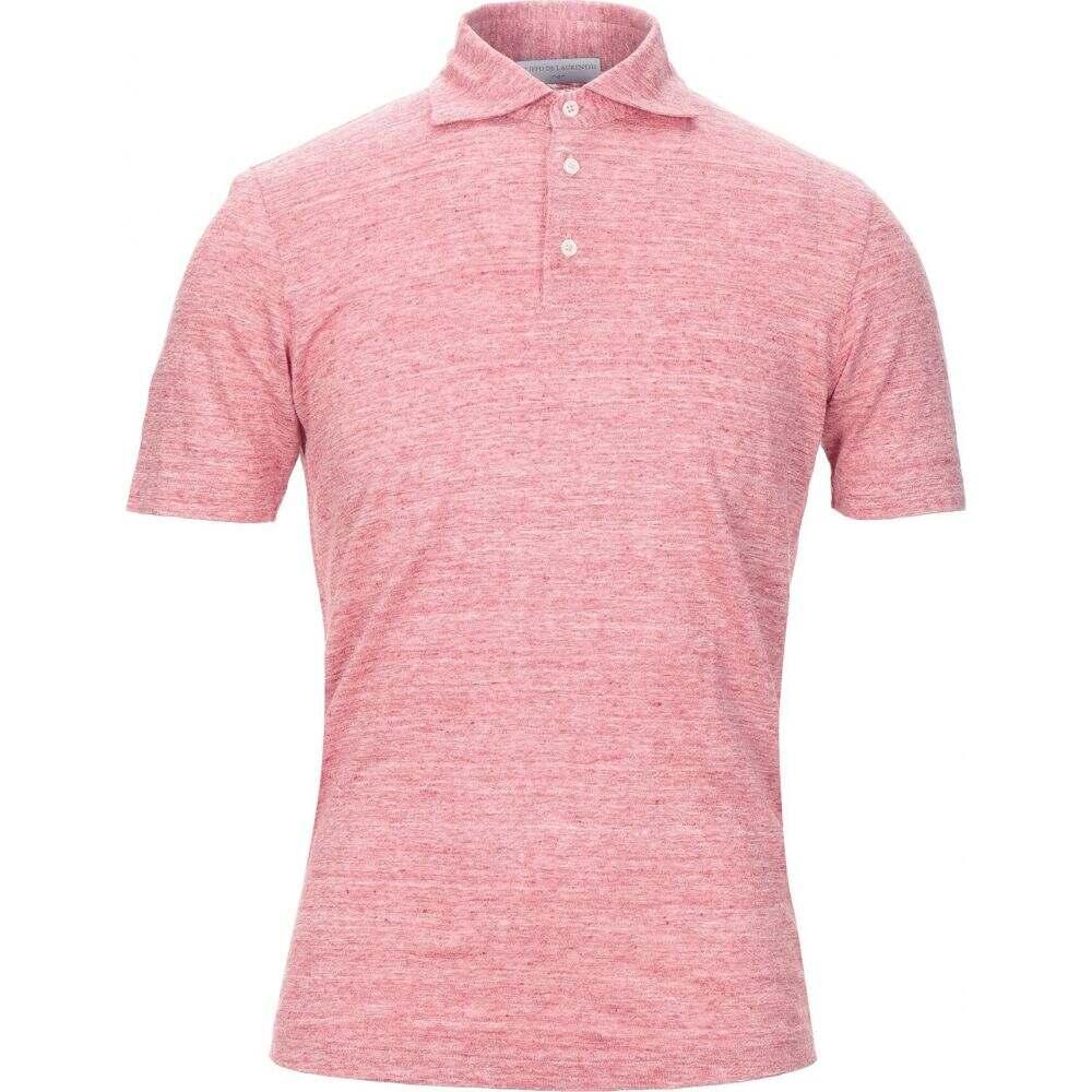 フィリッポ デ ローレンティス FILIPPO DE LAURENTIIS メンズ ポロシャツ トップス【polo shirt】Garnet