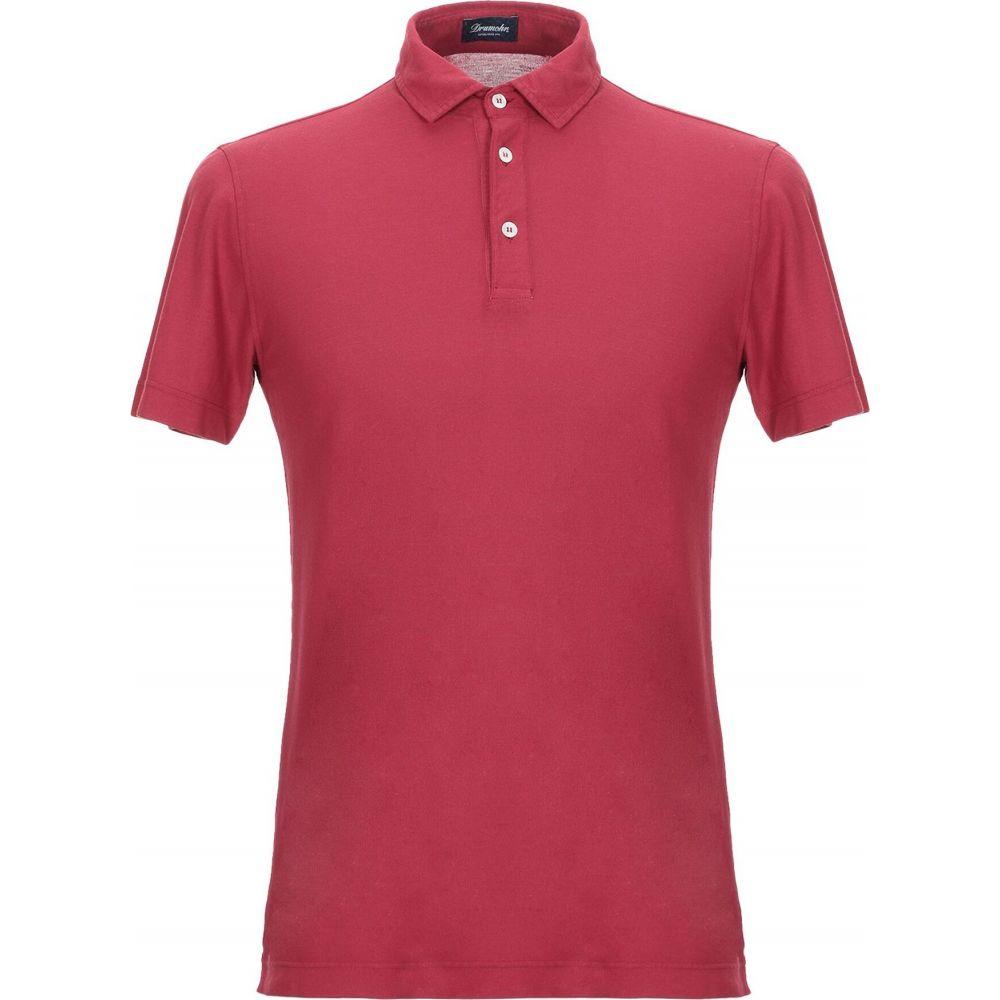 ドルモア DRUMOHR メンズ ポロシャツ トップス【polo shirt】Brick red