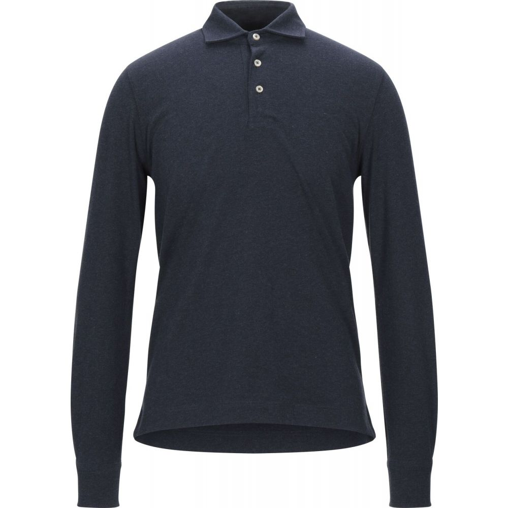 チルコロ1901 CIRCOLO 1901 メンズ ポロシャツ トップス【polo shirt】Blue