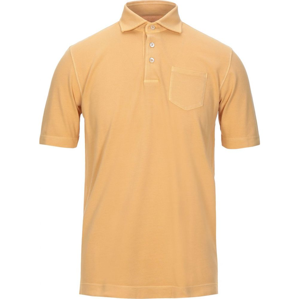 チルコロ1901 CIRCOLO 1901 メンズ ポロシャツ トップス【polo shirt】Ocher