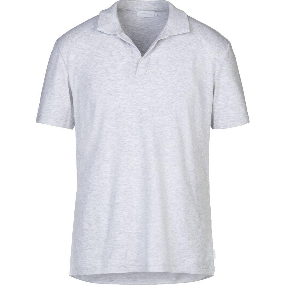 エルメネジルド ゼニア ERMENEGILDO ZEGNA メンズ ポロシャツ トップス【polo shirt】Light grey