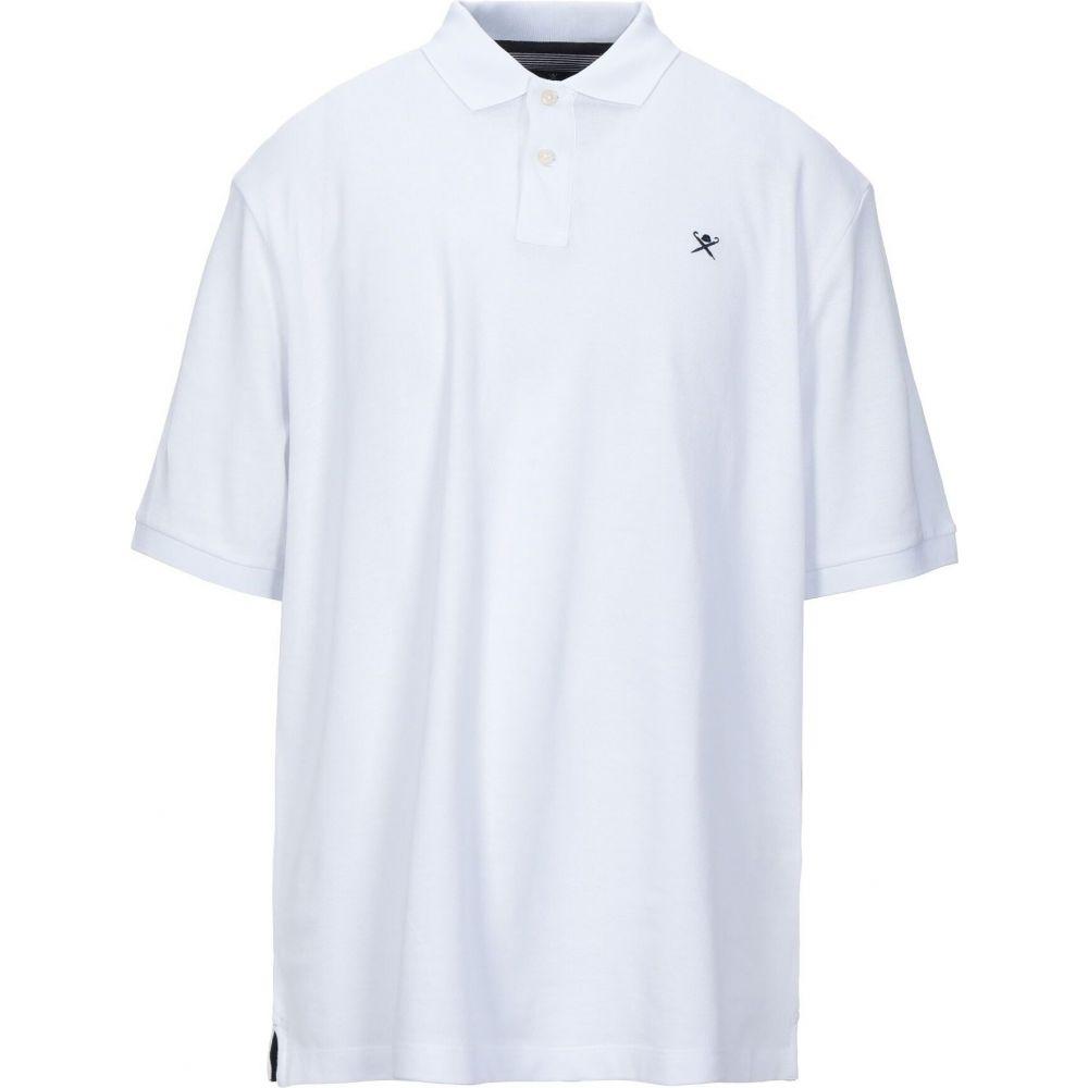ハケット HACKETT メンズ ポロシャツ トップス【polo shirt】White