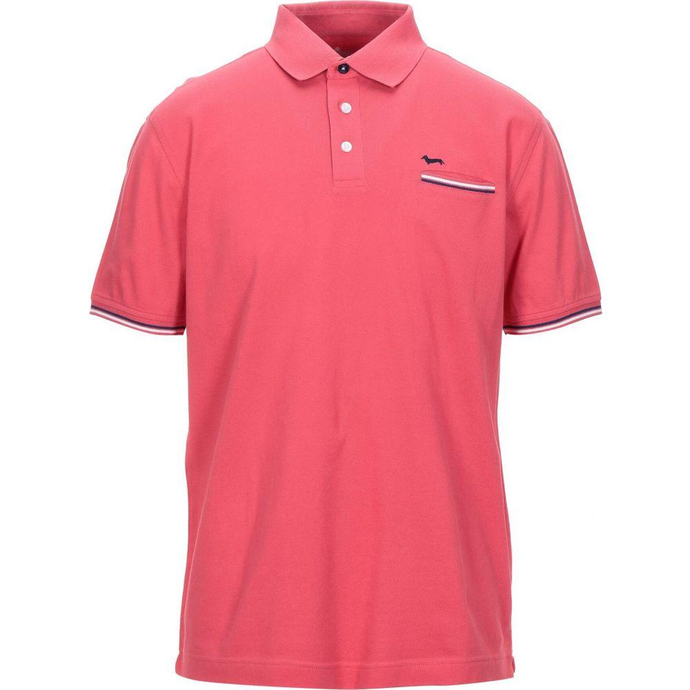 ハーモント アンド ブレイン HARMONT&BLAINE メンズ ポロシャツ トップス【polo shirt】Coral