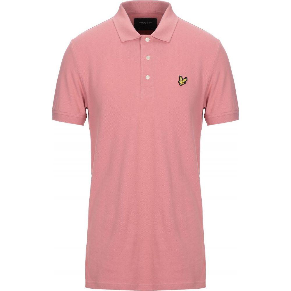 ライル アンド スコット LYLE & SCOTT メンズ ポロシャツ トップス【polo shirt】Fuchsia