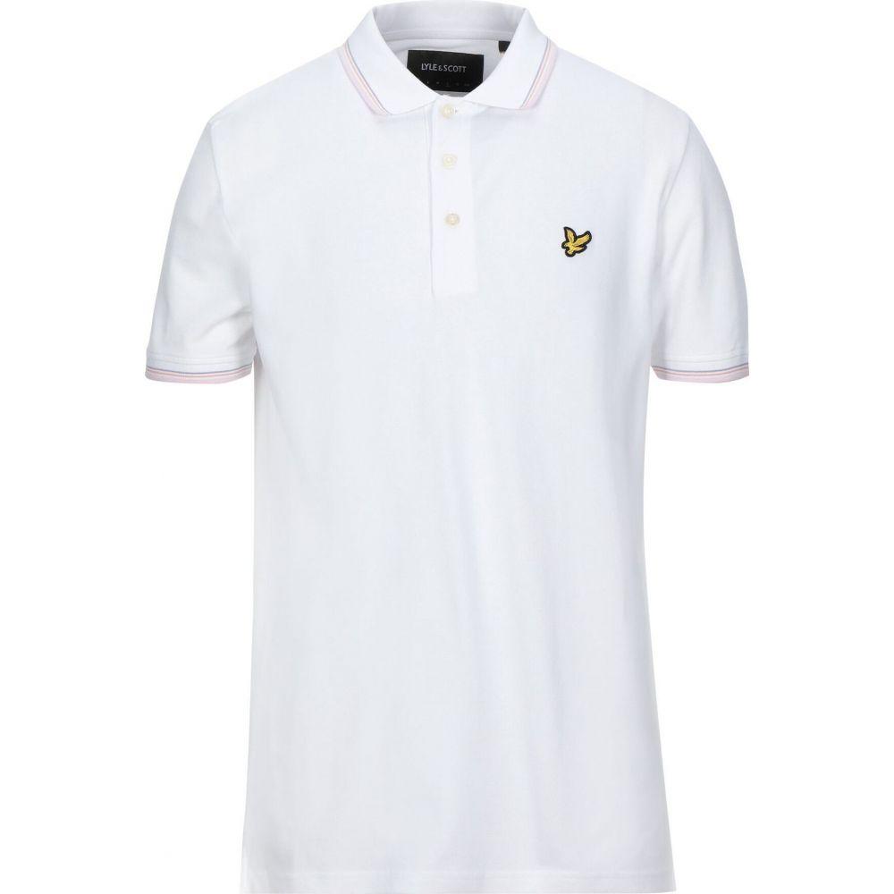ライル アンド スコット メンズ トップス ポロシャツ LYLE 新商品!新型 polo サイズ交換無料 SCOTT shirt ストア White