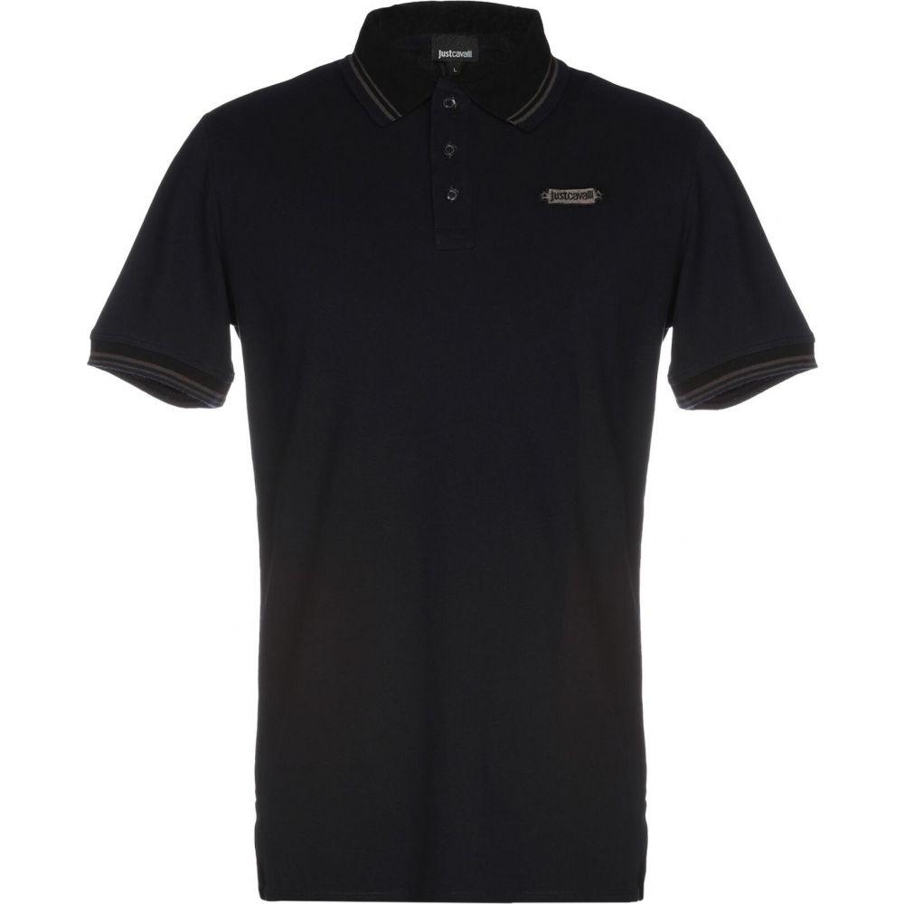 ジャスト カヴァリ JUST CAVALLI メンズ ポロシャツ トップス【polo shirt】Dark blue