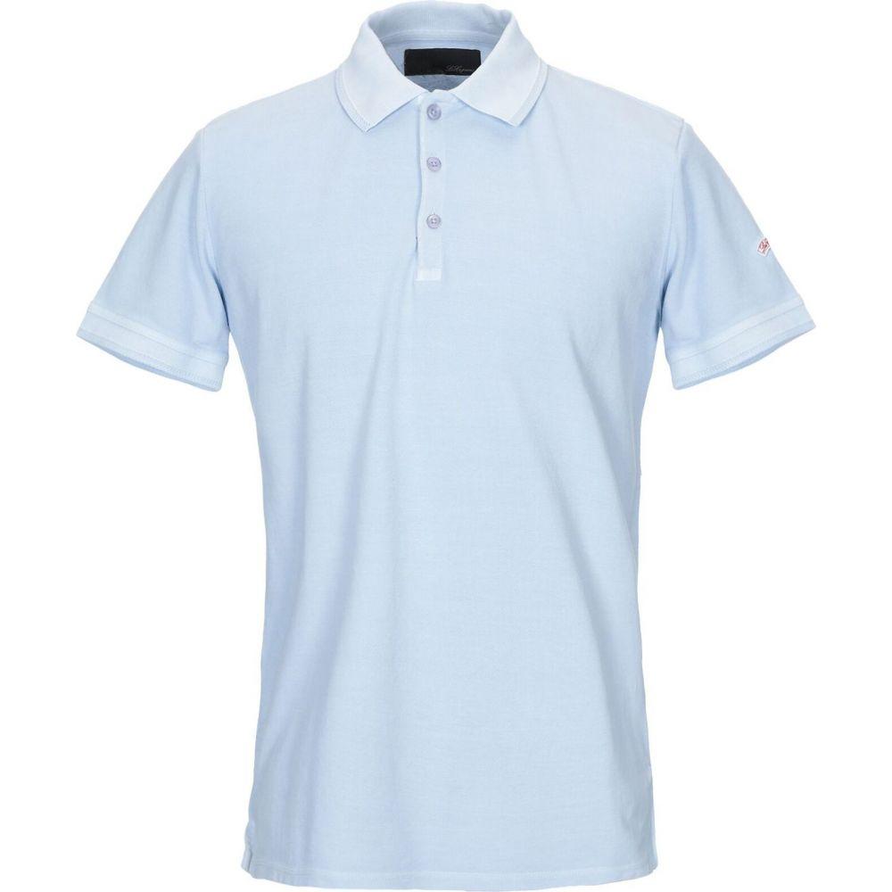 レ コパン LES COPAINS メンズ ポロシャツ トップス【polo shirt】Sky blue