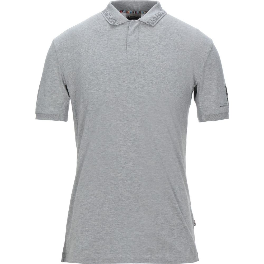 ナパピリ NAPAPIJRI メンズ ポロシャツ トップス【polo shirt】Grey