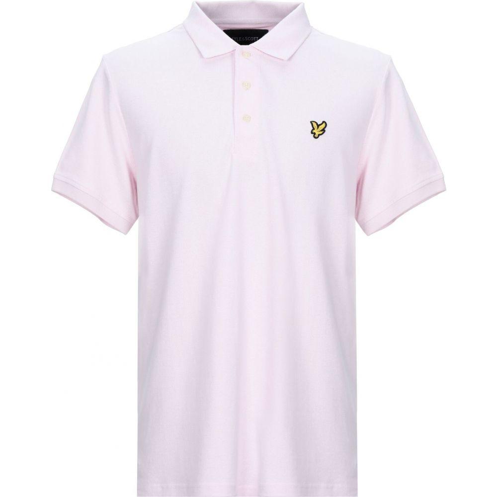 ライル アンド スコット LYLE & SCOTT メンズ ポロシャツ トップス【polo shirt】Pink