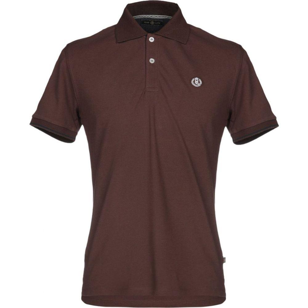 ヘンリーロイド HENRI LLOYD メンズ ポロシャツ トップス【polo shirt】Dark brown