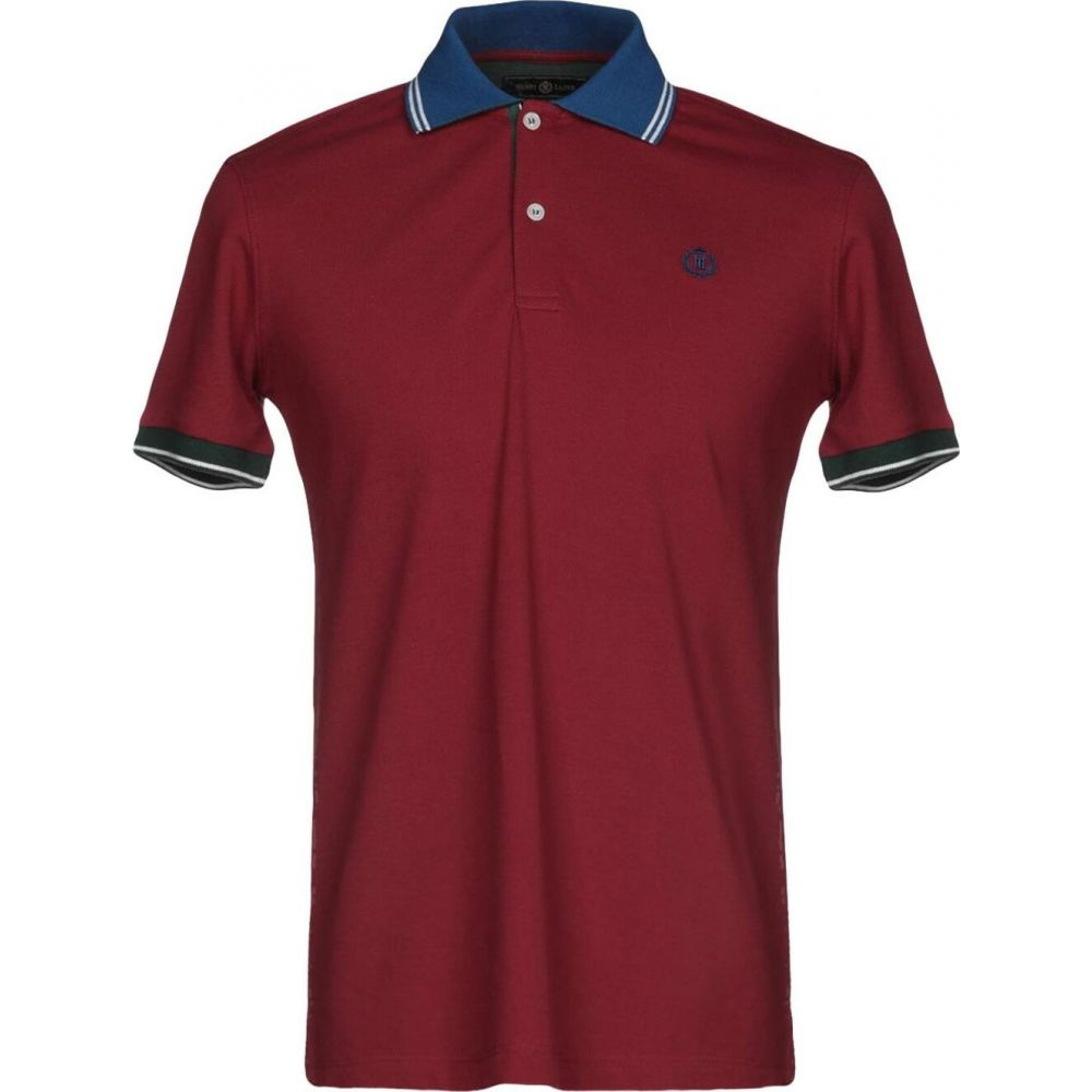 ヘンリーロイド HENRI LLOYD メンズ ポロシャツ トップス【polo shirt】Maroon