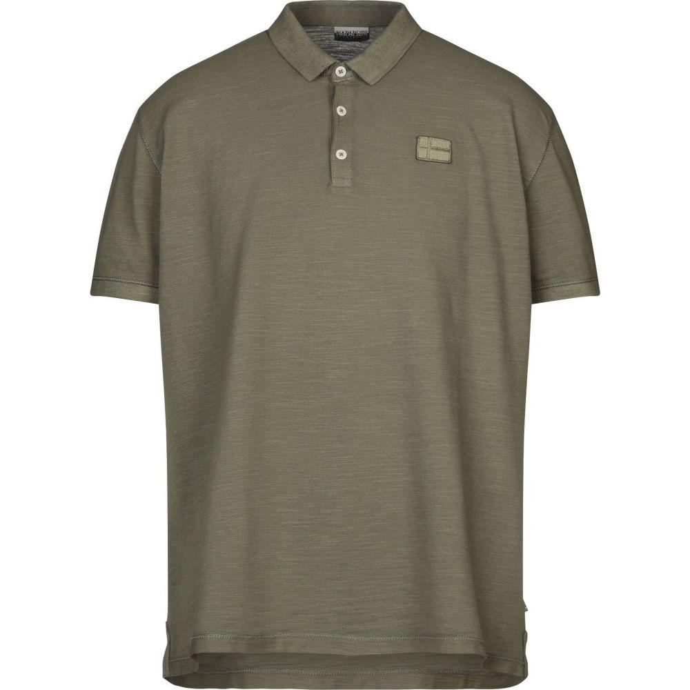 ナパピリ NAPAPIJRI メンズ ポロシャツ トップス【polo shirt】Military green