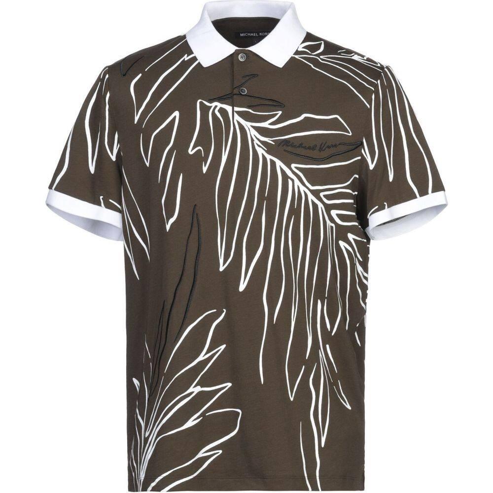 マイケル コース MICHAEL KORS MENS メンズ ポロシャツ トップス【polo shirt】Military green