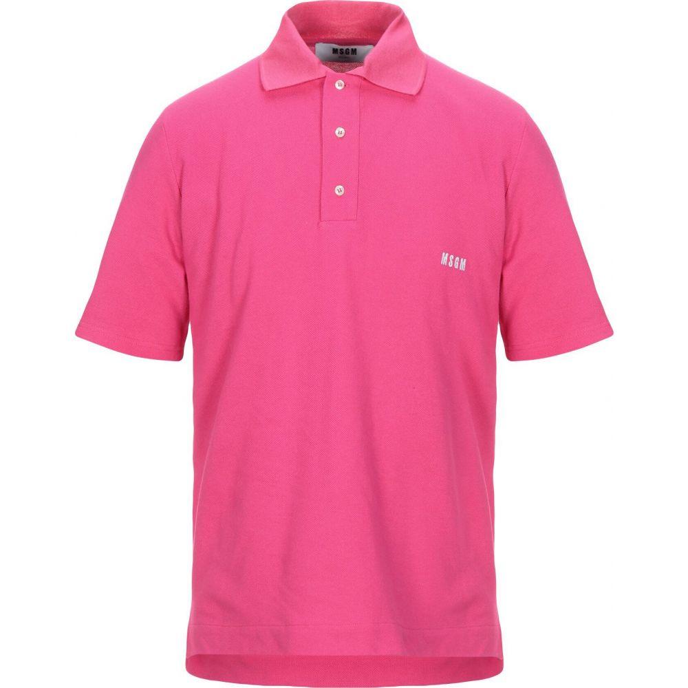 エムエスジーエム MSGM メンズ ポロシャツ トップス【polo shirt】Fuchsia