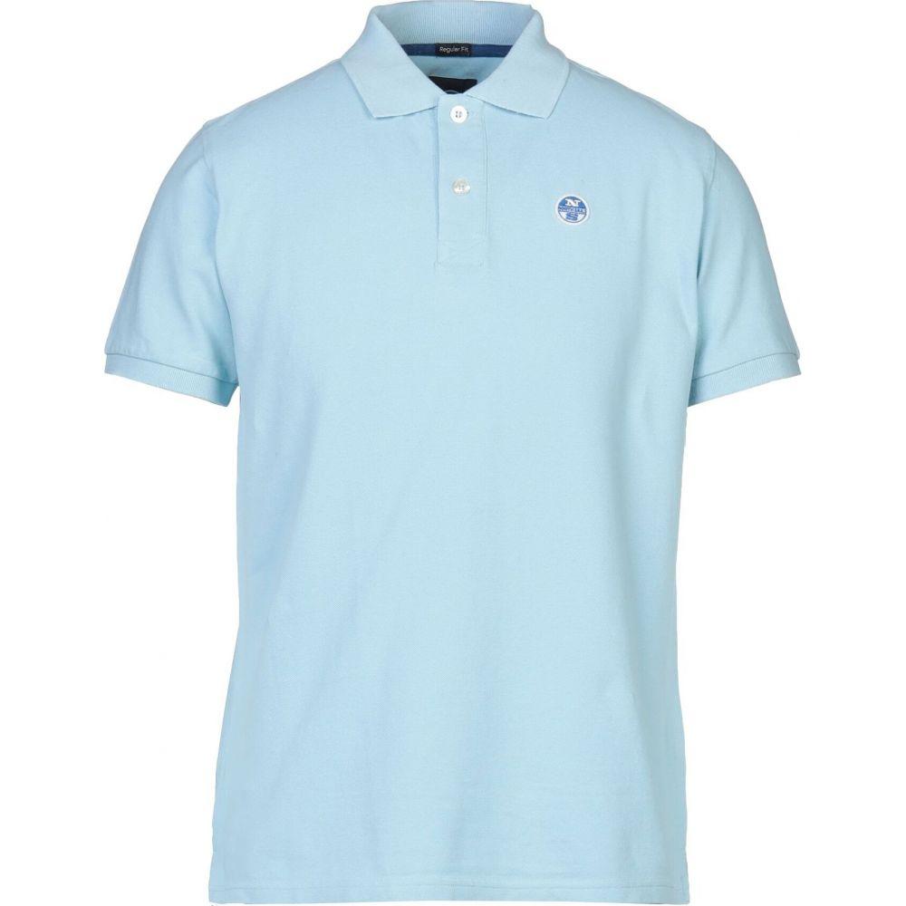 ノースセール NORTH SAILS メンズ ポロシャツ トップス【polo shirt】Sky blue