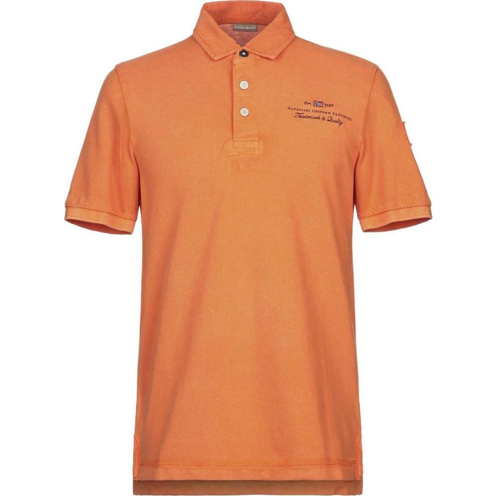 ナパピリ NAPAPIJRI メンズ ポロシャツ トップス【polo shirt】Orange