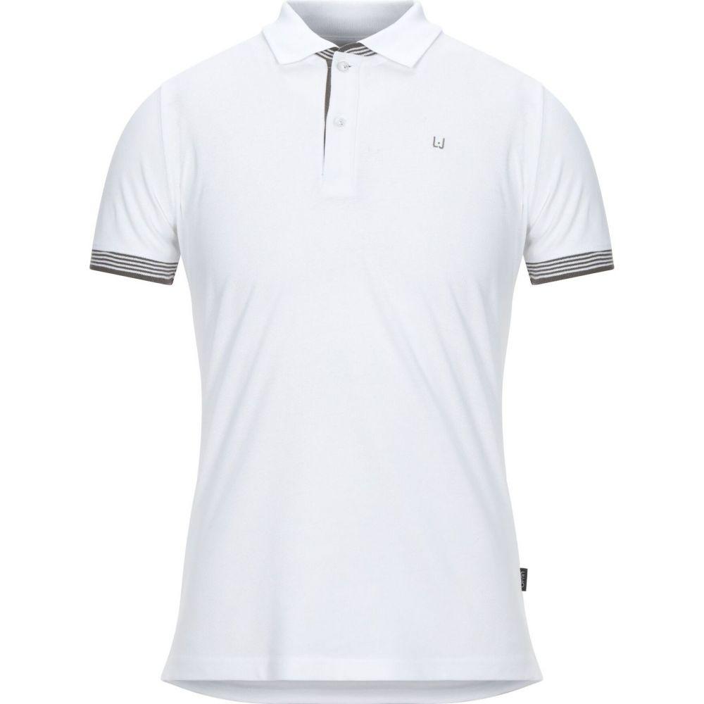 リウジョー LIU JO MAN メンズ ポロシャツ トップス【polo shirt】White