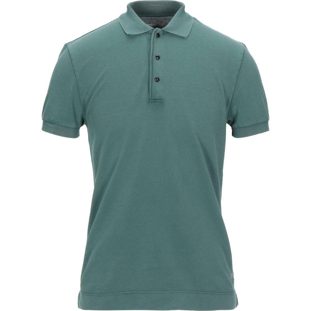 マウロ グリフォーニ MAURO GRIFONI メンズ ポロシャツ トップス【polo shirt】Dark green