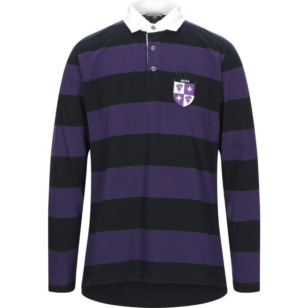 ロダ RODA メンズ ポロシャツ トップス【polo shirt】Purple